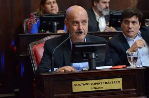 senador juninense Gustavo Traverso