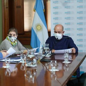 Gustavo Traverso Presidente de la Comisión de Salud Senado Bonaerense