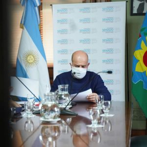 Senador Gustavo Traverso Ley de Donantes de Plasma COVID19