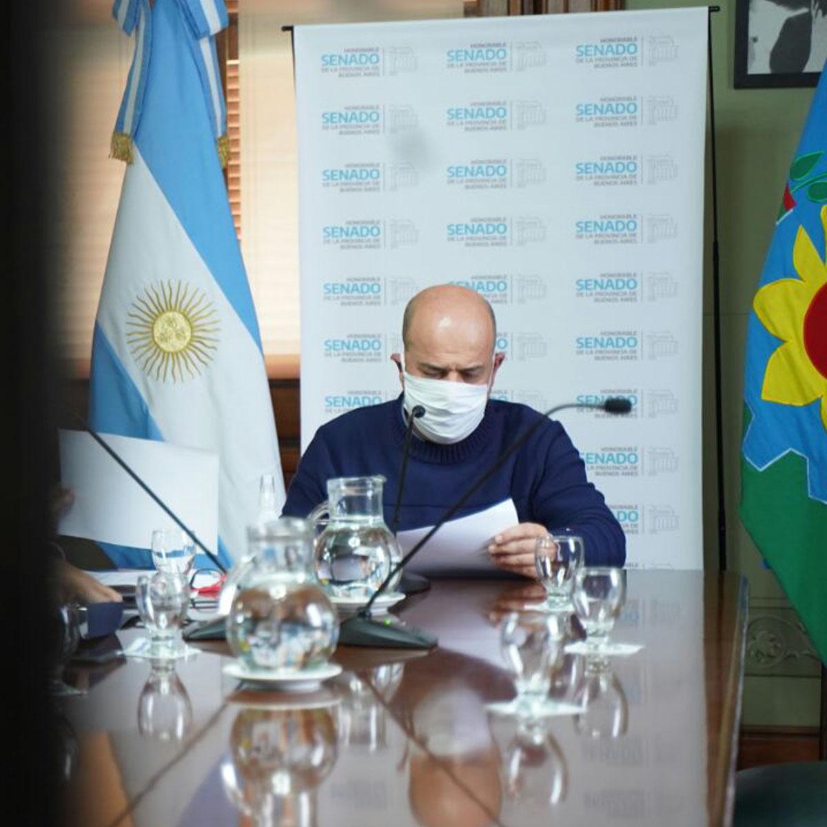Senador Gustavo Traverso Presidente Comisión de Salud Senado BA (4)