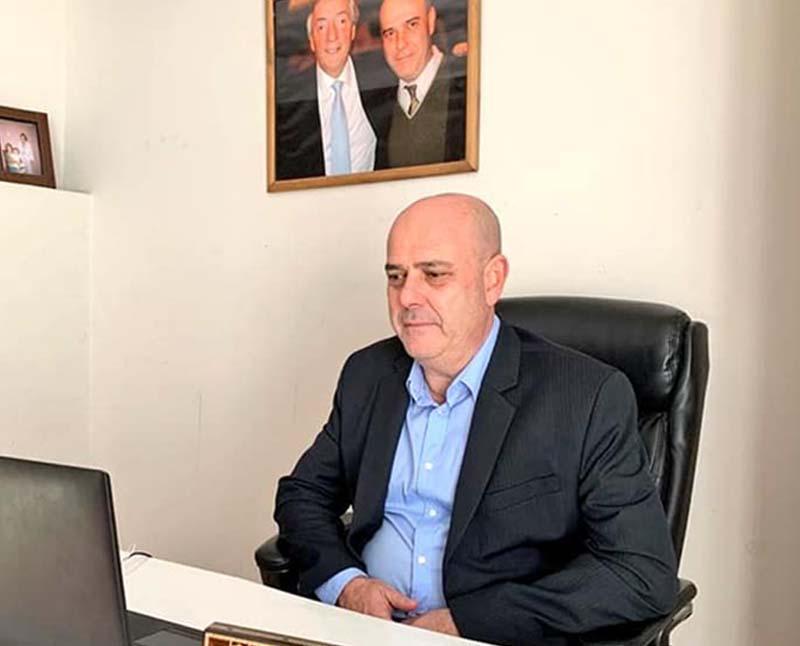 Gustavo Traverso Prsidente Comisión de Salud del Senado BA