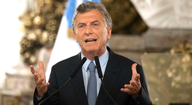 Macri y Senador Gustavo Traverso