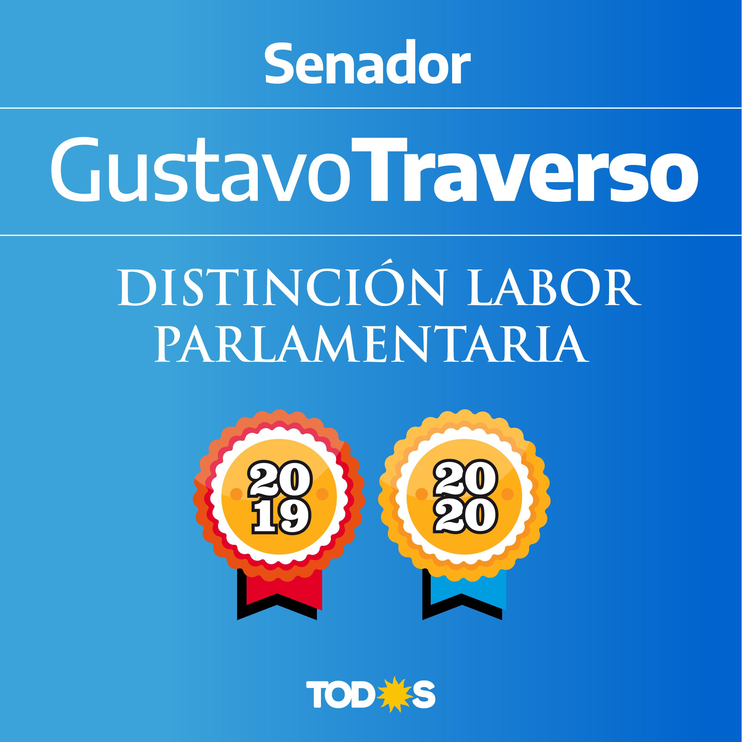 Gustavo Traverso labor parlamentario